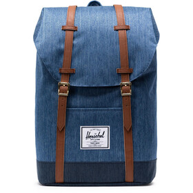 Herschel Retreat Backpack 19,5l Unisex, faded denim/indigo denim
